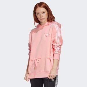 Adidas Originals Embroidered Heart Hoodie S